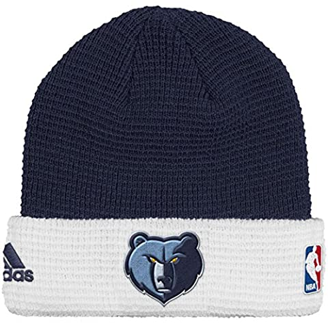 Memphis Grizzlies Adidas NBA 2015 Authentic Team Cuffed Knit Hat