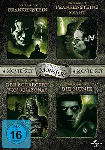 Monster Collection - Limitierte Auflage [4 DVDs]
