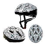 1-1 Kinder Helm Sport Rolle Skateboard Schlittschuh Reiten Roller Balance-Fahrrad Sicherheit Kinder Hüte,White