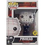 Pinhead #360 (Glow In The Dark GITD) Hellraiser III Pop! Movies Vinyl Figure (Hot Topic Limited Edition Exclusive) Funko by FunKo