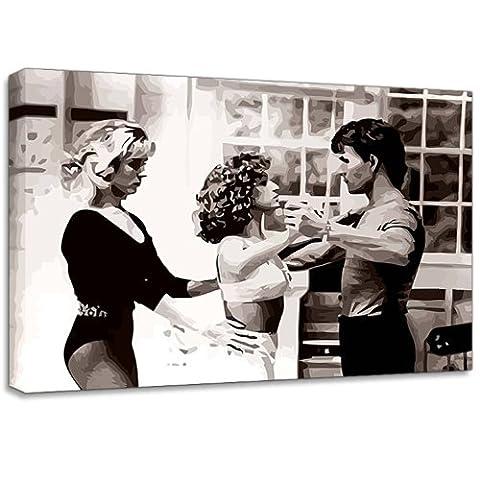 Dirty Dancing Film Canvas Art Print Poster