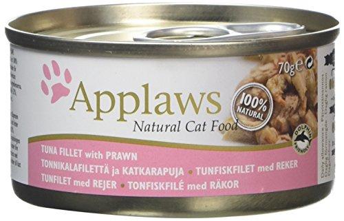 Applaws Cat Tuna Fillet & Prawn, Dose, 1er Pack (1 x 1.68 kg)