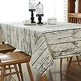 Manteles mesa rectangular - mantel antimanchas - vintage decoracion - G.G.G. Del Medio Ambiente conveniente...
