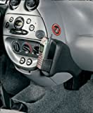 KUDA Telefonkonsole (LHD) für Opel Adam ab 2013 Echtleder Schwarz