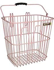 Basil – Cesta para bicicleta Bottle Basket, color rosa, tamaño talla única