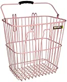 Basil Fahrradkorb Bottle Basket, Soft Pink One Size