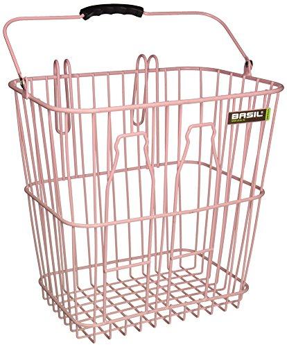 Basil Fahrradkorb Bottle Basket, Soft Pink One Size
