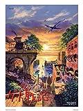 onthewall Kunstdruck Die Chroniken von Erdsee, Poster, Studio Ghibli