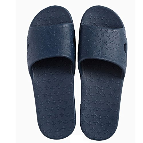 Confortevole Pantofole estraibili estive Trascinate i pantofole antisdrucciolevoli del pantofole Portable pattini di parola delle signore Le coppie fredde delle signore (2 colori opzionali) (formato f A