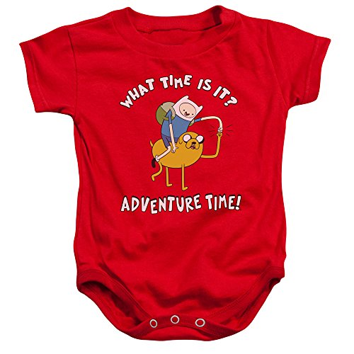 Adventure Time - - Toddler Ride Bump-Strampler, 12 Months, Red