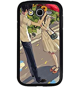 Printvisa Love Couple In A Sunflower Field Back Case Cover for Samsung Galaxy Grand Neo::Samsung Galaxy Grand Neo i9060