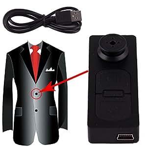 SYT Mini DV Spy enregistreur bouton de la caméra vidéo enregistreur DVR PC