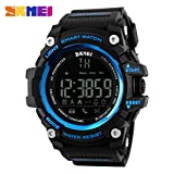 Fuibo Smartwatch, Sport Wasserdichte Bluetooth Smart Watch Phone Mate für Smartphone | Intelligente Armbanduhr Sport Fitness Tracker Armband (Blau)