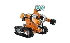 UBTech–Jimu kit–Interactive Système de Blocs de Construction Robot Intelligent–Noir/Orange