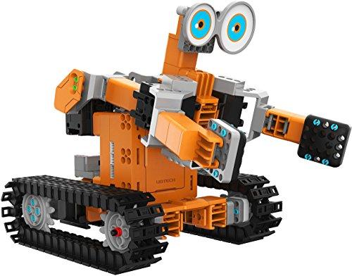 UBTech Jimu Robot TankBot Kit - Programmierbares Roboter-Baukastensystem für Kinder ab 8 Jahren