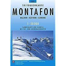 Montafon Skirouten 1:50'000
