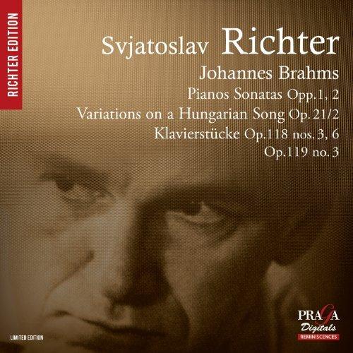 Brahms: Piano Sonatas Nos.1 & 2, Klavierstucke by Sviatoslav Richter (2013-08-13)