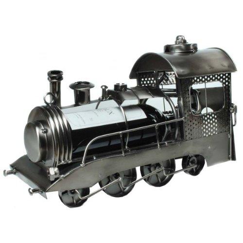 Der Weinflaschenhalter als Eisenbahn Lokomotive - Das Geschenk für Weinliebhaber oder Eisenbahn Fans