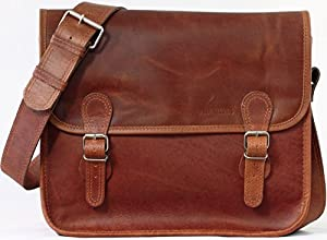 La Borsa a tracolla (M), borsa pelle vintage, la borsa a mano, borsa a tracolla, (A4), PAUL MARIUS, Vintage & Retro da BagCentre