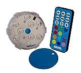 Spiel Wasserdicht magnetisch Farbwechselnde LED-Pool Wandleuchte mit Fernbedienung
