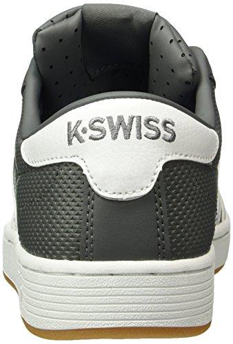 K-swiss Hoke Eq Cmf, Baskets Basses Pour Homme Gris (charbon / Blanc / Gomme Foncée)