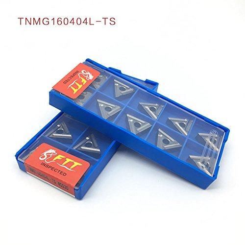 10pcs externe drehwerkzeuge tnmg160404l-ts carbide einfügen hochwertige drehbank schneidwerkzeug tokarnyy sich einfügen