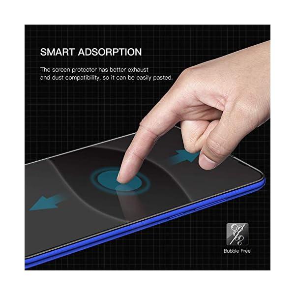 FCLTech Protector de Pantalla para Huawei P30, P30 Vidrio Templado Screen Protector, 9H Dureza, Anti-Arañazos, Anti… 3