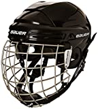51hWo5DEEWL. SL160  - BEST BUY #1 Bauer 2100 Combo Adult Helmet with Face Guard Black black Size:S Reviews and price compare uk
