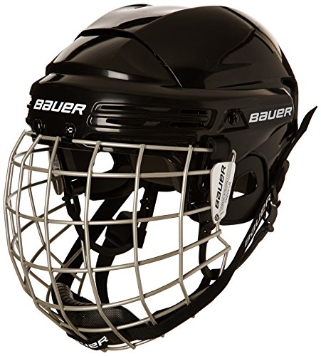 51hWo5DEEWL - BEST BUY #1 Bauer 2100 Combo Adult Helmet with Face Guard Black black Size:S Reviews and price compare uk