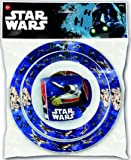 STAR WARS – Set piatto, ciotola e tazza Micro 265 ml, Stor 82449