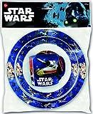 STAR WARS–Set piatto, ciotola e tazza Micro 265ml, Stor 82449