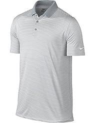 Nike Victory Mini Stripe–T-shirt polo à manches courtes de Golf pour homme