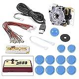 XCSOURCE Arcade Machine parts Bundles DIY kit Arcade Game Controller USB Joystick für MAME Raspberry Pi 1/2/3 AC489