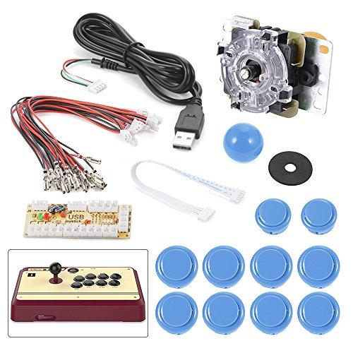 xcsource-arcade-machine-parts-bundles-diy-kit-arcade-game-controller-usb-joystick-fr-mame-raspberry-