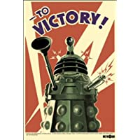 Pyramid International Dalek To Victory Doctor Who Maxi Poster, Multi-Colour, 61 x 91.5 x 1.3 cm