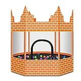 Trampoline Außentrampolin Schlosstrampolin Haushaltskinderbombenbett Bungee, Tragkraft 150kg (Color...