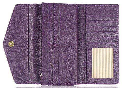 Kukubird Bande Cousu De Sac À Main Avec Sac À Poussière Kukubird Purple
