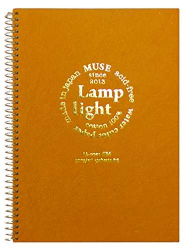 Muse Inlands hochwertigen Aquarellpapier Lampenlicht Skizzenbuch 300g 13 St?ck SM (Japan Import /...