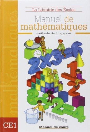 Manuel de mathmatiques CE1 de Annie Mnzer (19 mai 2008) Reli