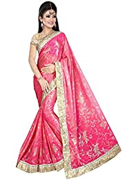 Sarees(Online V Mart Women's Clothing Saree New Fancy Saree For Women Latest Design Collection Georgette Material... - B077LR5L81