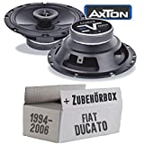 Fiat Ducato 230 244 Front - Lautsprecher Boxen Axton AE652F | 16cm 2-Wege 160mm Koax Auto Einbauzubehör - Einbauset