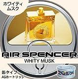Air Spencer Typ Place Aromatische Deodorant Kartusche 10Für Fahrzeuge eikosha Whitey Moschus 40g × 10A43–10
