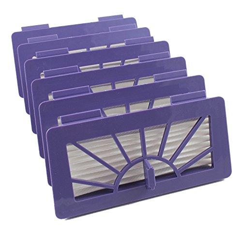 6 Hepa - Filter für Neato 945–0005, 945–0006, XV Signature Pro, XV Signature Essential XV, XV-12, XV-15, XV-11, XV-21, XV