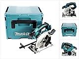 Makita DSS 611 ZJ Solo Scie circulaire portative sans batterie lithium-ion 18 V dans coffret Makpac sans accessoires