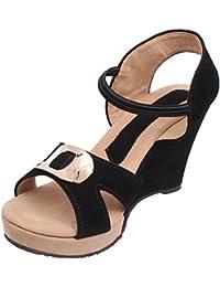 Footshez Partywear Outdoor Wedding Casual Heel for Women and Girls