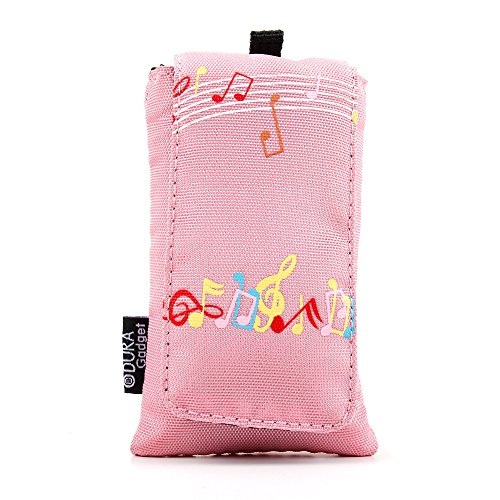 pink-music-design-cushioned-music-player-case-pouch-with-red-interior-lining-for-the-sony-nwz-a-15-a