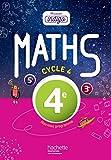 Mission Indigo mathématiques cycle 4 / 4e - Livre élève - Nouveau programme 2016