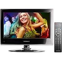 "XOMAX XM-LED1562 Television / LED TV con 40 cm / 15,6 "" pulgadas + PVR (grabador de vídeo personal): Función de grabadora de vídeo USB para unidades flash USB y discos duros externos + FULL HD Resolución 1920 x 1080 px + 16:9 / 16:10 formato + DVB-T y sintonizador analógico + CI+ Common Interface plus / interfaz común además de CI + para HDTV Pay-TV / canales de TV de pago de HDTV + USB conexión + MP3, MPEG2, AVI, etc. + HDMI + operación de 220 V y 12 V (por ejemplo, para autocaravana)"