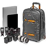 Lowepro LP37280-PWW Whistler RL 400 AW II robuster Kamera-Trolley für 15-Zoll-Laptop/iPad, spiegellose Profikamera/DSLR, Sony, Canon, Nikon, Gimbal, Drohne, DJI, dunkelgrau