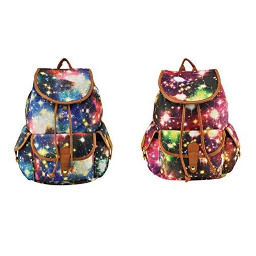 herren frauen Mädchen/Jungen Schulreisetasche gestreiften Rucksack Laptop-Tasche / Schultertasche / Schulrucksack / Reisetasche / Handtasche - stil1, ONE SIZE stil1